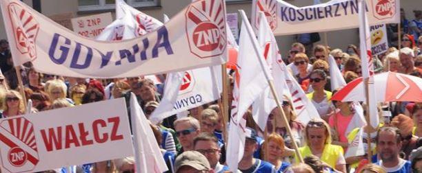 Ogromny zgrzyt pomiędzy strajkującymi nauczycielami. Bunt w dużym polskim mieście