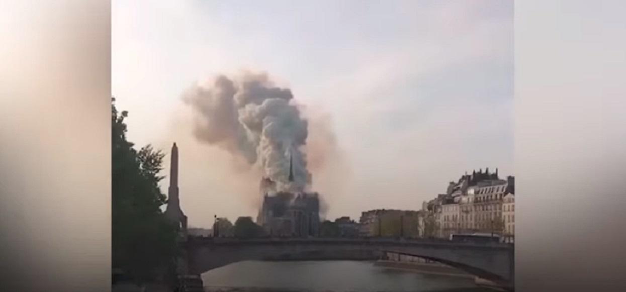 Ostatnie zdjęcie sprzed pożaru Katedry Notre Dame pojawiło się w sieci. Rozrywa serce