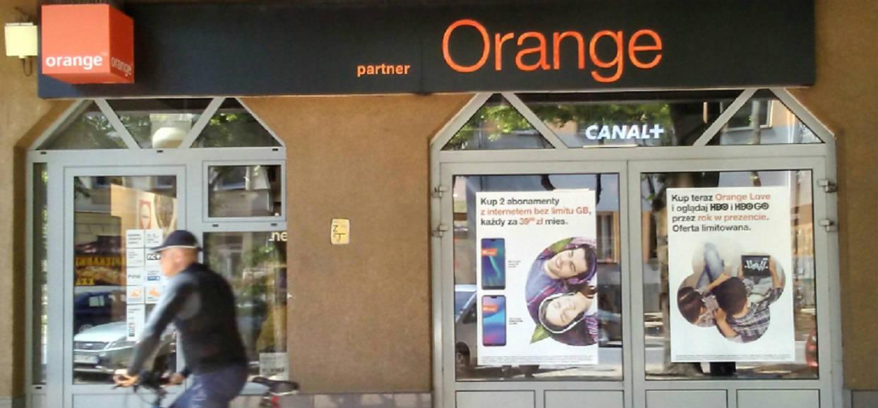 Awaria Orange w całym kraju. Klienci bez dostępu do internetu
