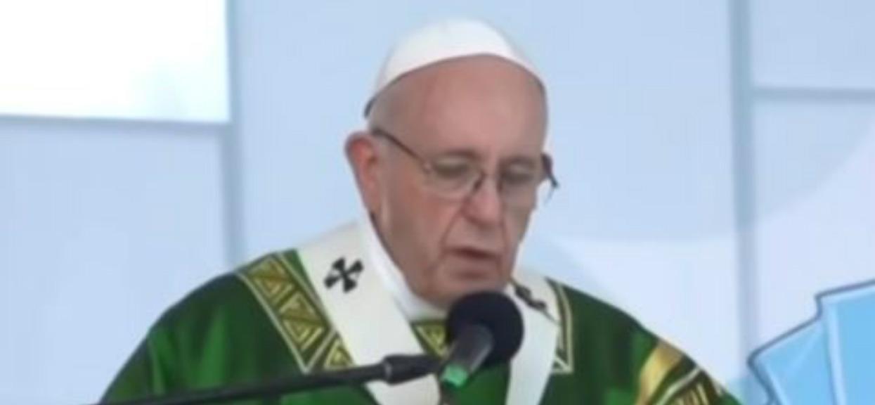 Papież Franciszek o niebezpieczeństwie czyhającym na Katolików. Wstrząsające