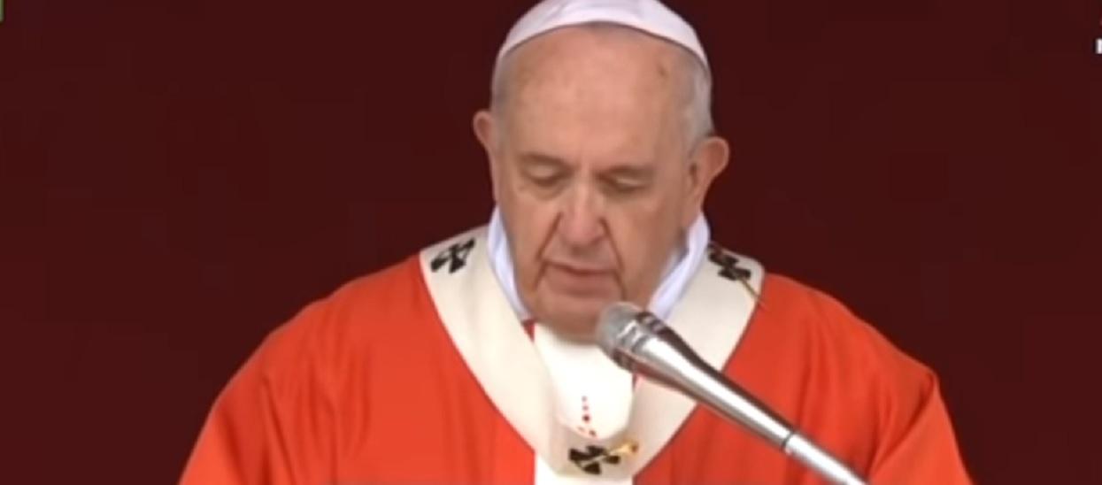 Papież Franciszek apeluje przed świętami. Aby zbliżyć się do Boga należy się upokorzyć