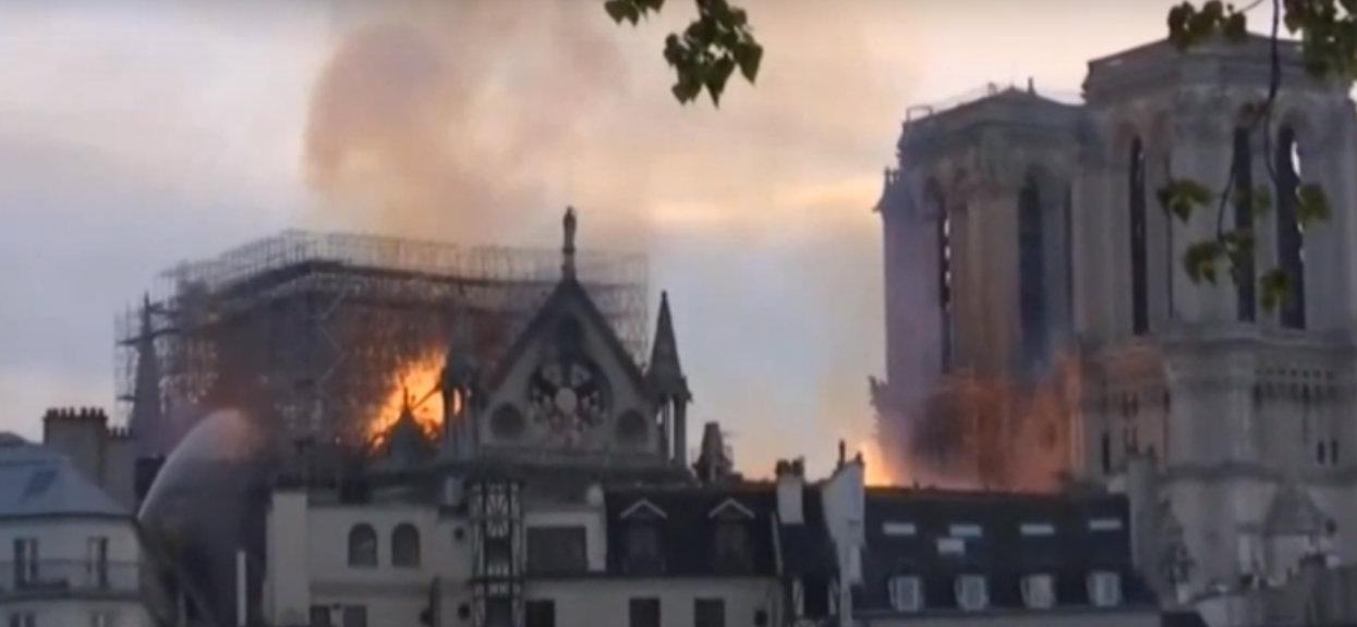 Zdecydowana reakcja Watykanu w związku ze strasznym pożarem katedry Notre Dame
