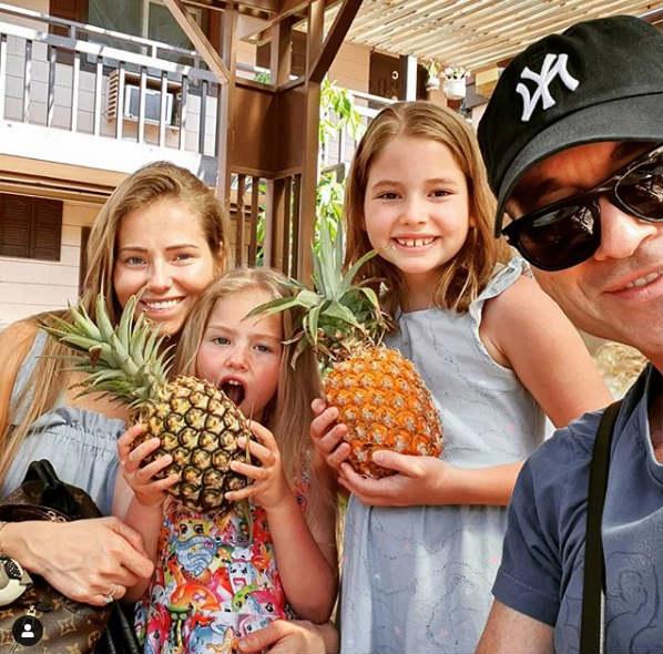 Piotr Rubik pokazał swoje dzieci na Hawajach. Opadły nam szczęki