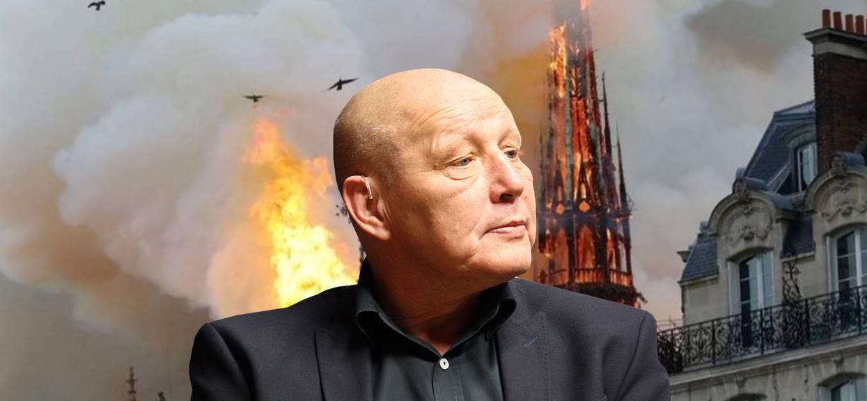Porażające słowa Jackowskiego o pożarze Notre Dame. Jasnowidz ostrzega, to dopiero początek koszmaru
