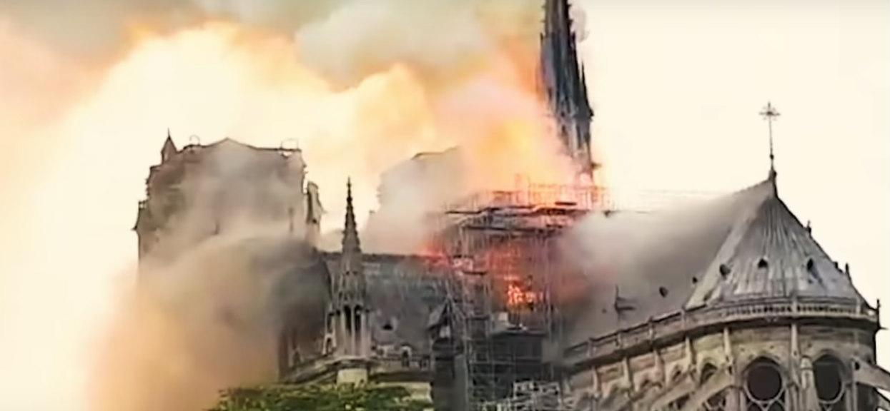 Gest 9-latki po pożarze Notre Dame przywraca wiarę w ludzi. Cudowna dziewczynka