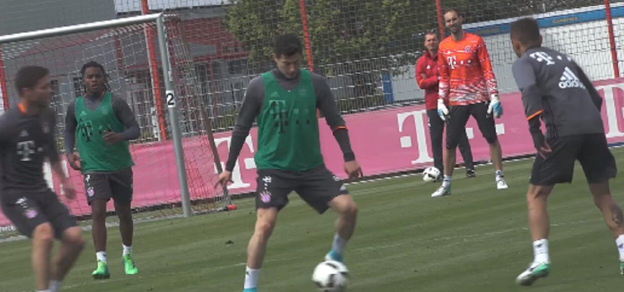 """Trener Bayernu o karze dla Lewandowskiego. """"Obaj są mężczyznami"""""""