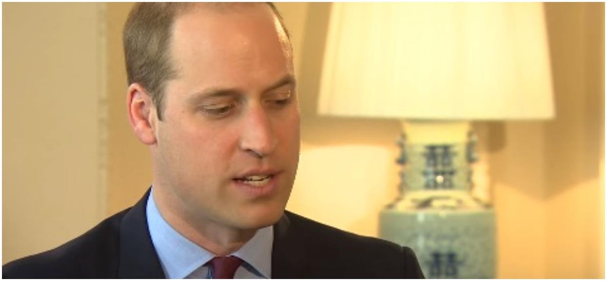 Książę William odpowiada na plotki. Dziedzic straszy prawnikami