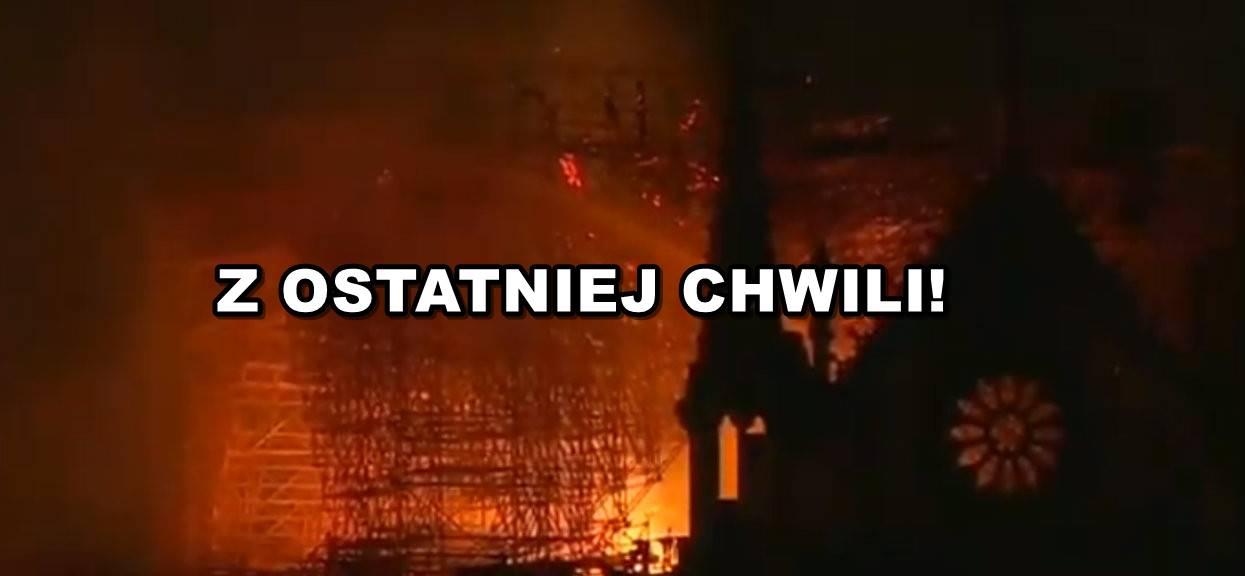Serce pęka. TVN podał, co się teraz dzieje pod Notre Dame
