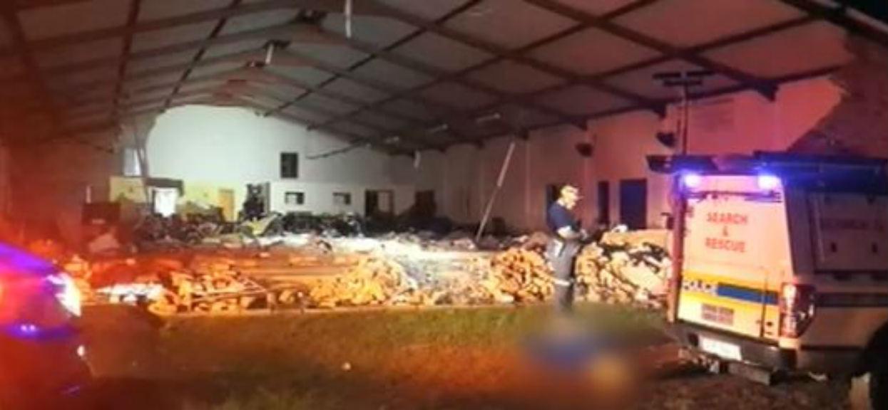 TVN: Wielka tragedia za granicą. Zawalił się kościół, nie żyje 13 osób, mnóstwo rannych