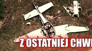 Poranna wiadomość wstrząsnęła całym stanem. Samolot Beechcraft BE58 rozbił się, nikt nie przeżył