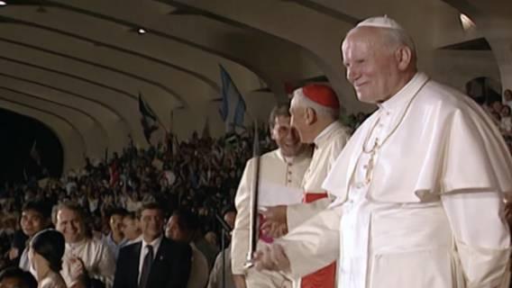 Jan Paweł II w górach i na kajakach