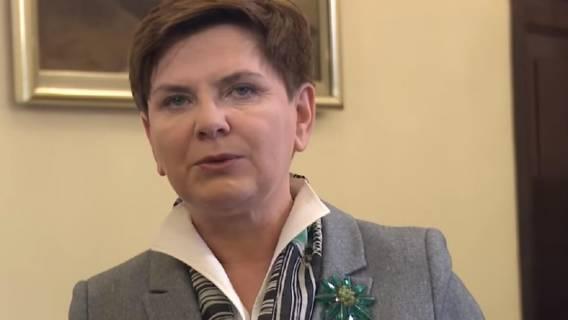 Beata Szydło o pomocy Francuzom