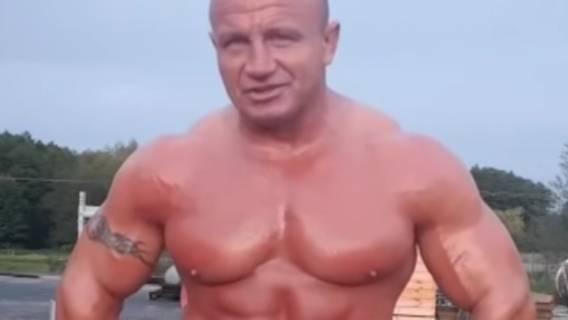 Mariusz Pudzianowski waga