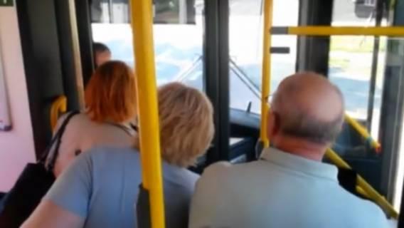 Kierowca pobicie w autobusie