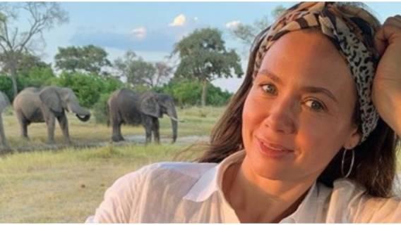 Kinga Rusin zachwyca kreacją po powrocie z Afryki