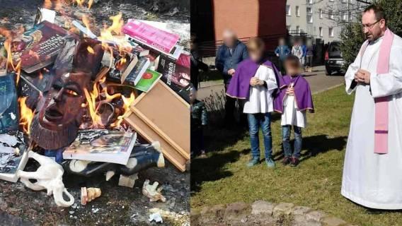 Kościół katolicki spalił książki o Harrym Potterze