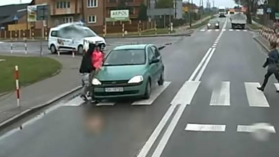 Wypadek w Olbięcinie.