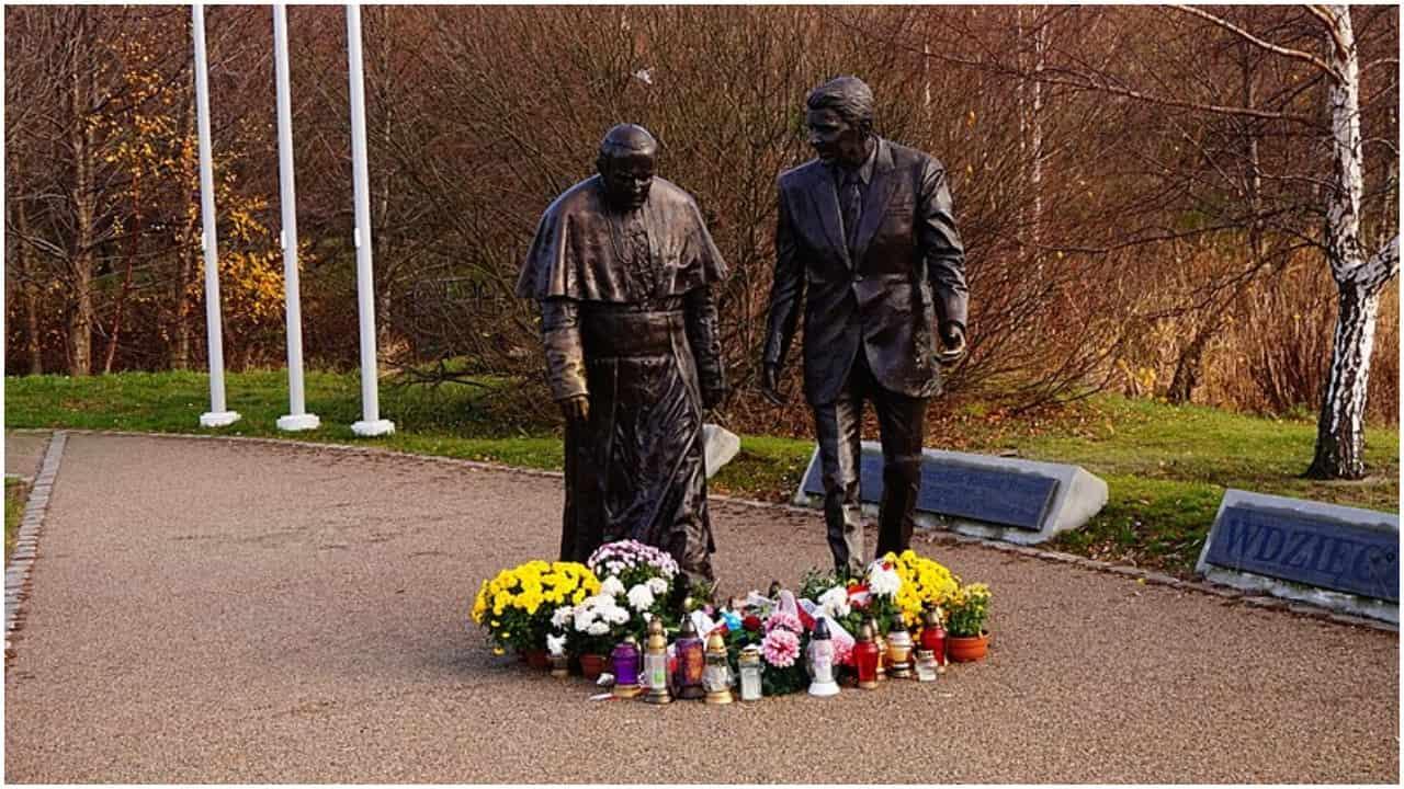 Jan Paweł II pomnik Gdańsk