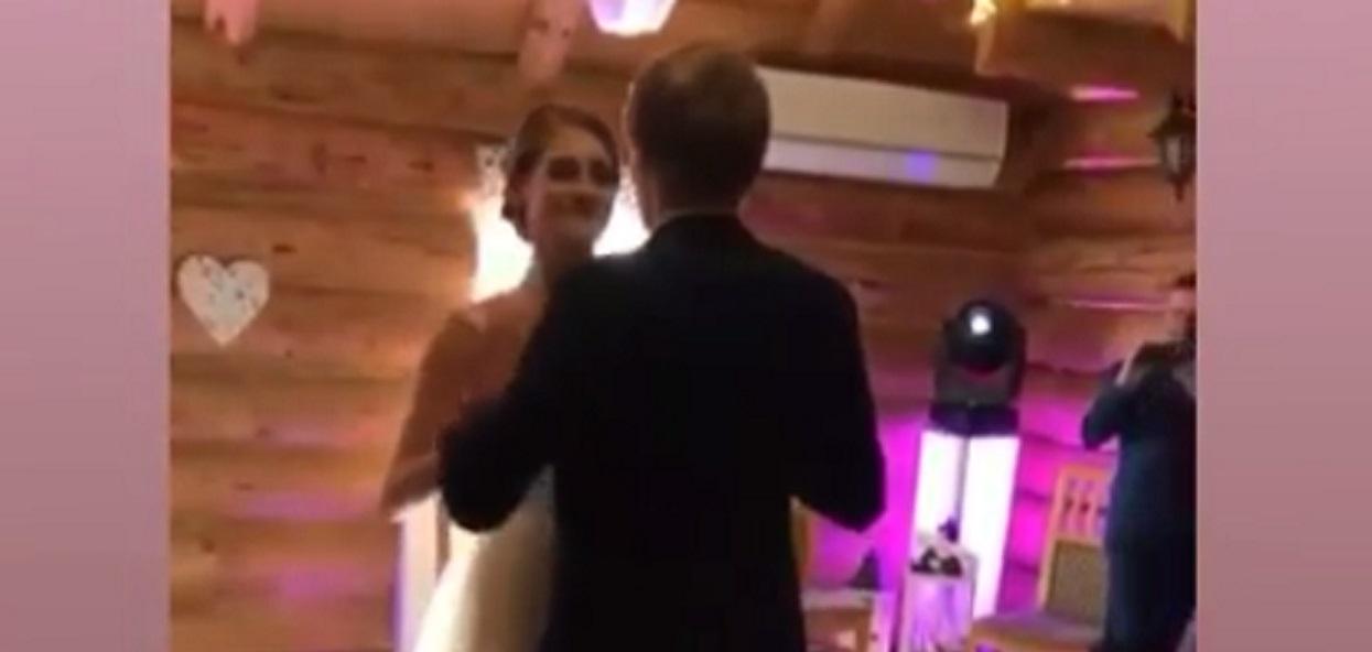 Do sieci trafiło nagranie ze ślubu Kubackiego. Ich pierwszy taniec wzrusza