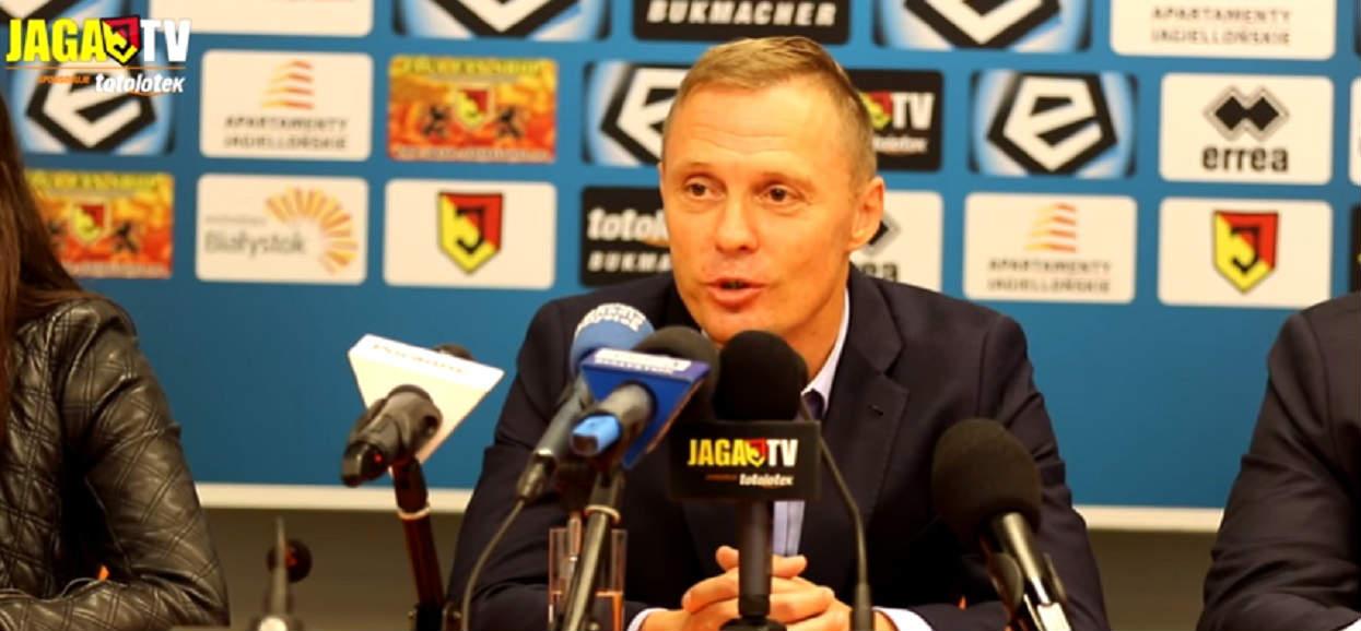 Jagiellonia nie zmieni trenera. Ireneusz Mamrot podpisał nowy kontrakt