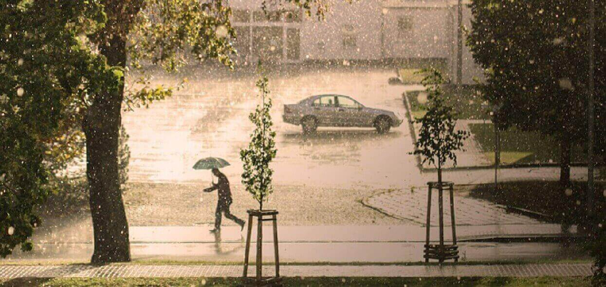 Dzisiejsza pogoda zapowiada się tragicznie. Grozi nam nawet grad