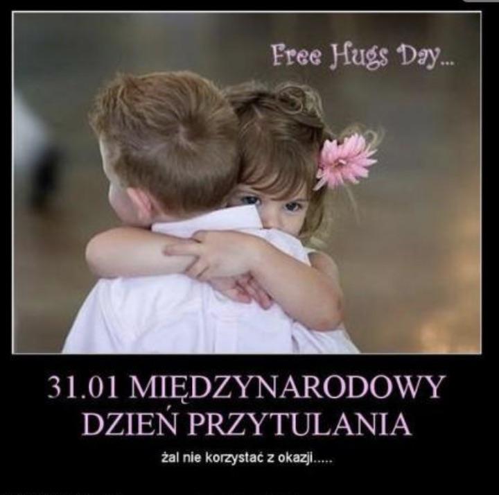 Kartki Na Dzień Przytulania Wierszyki życzenia Na