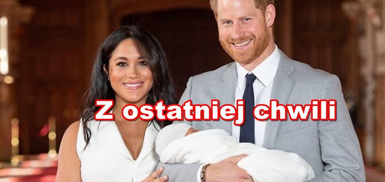 Rodzina królewska podała oficjalnie imiona dziecka Meghan i Harry'ego. Złapiecie się za głowę, ostro zaszaleli