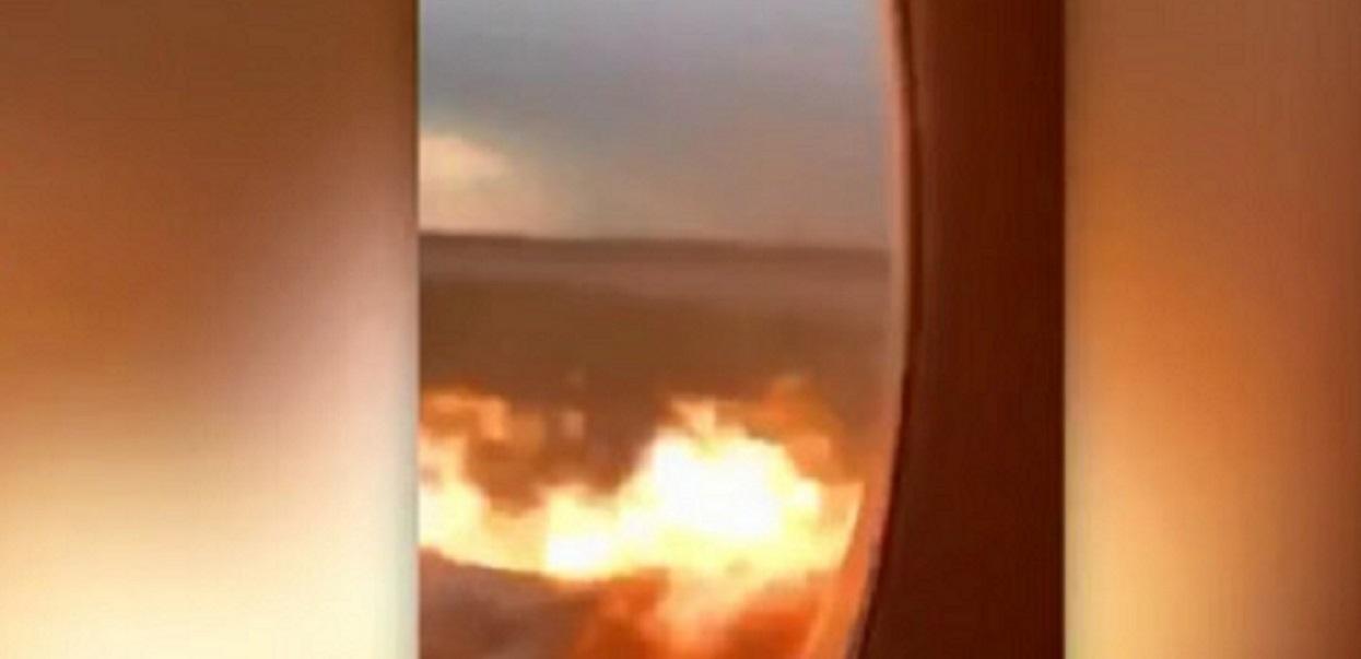 TVN opublikował koszmarne nagranie z wnętrza płonącego samolotu. Dziesiątki osób zginęły