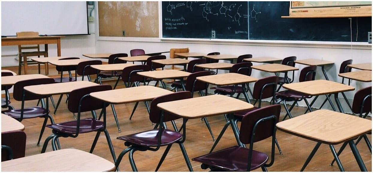 """Wstrząsająca kłótnia uczennicy z nauczycielką w szkole po strajku. """"Skończ pier*olić"""", interweniował ojciec"""