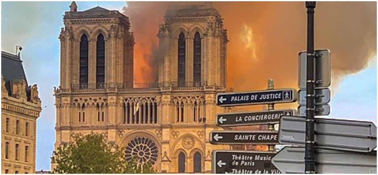 Media obiegła skandaliczna wiadomość. Strażacy gaszący Notre Dame oskarżeni o gwałt zbiorowy