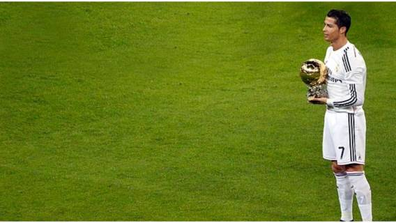 Ile razy Cristiano Ronaldo zdobył złotą piłkę?