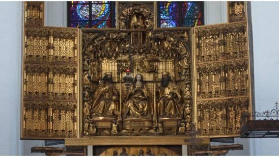 Ołtarz Mariacki - opis