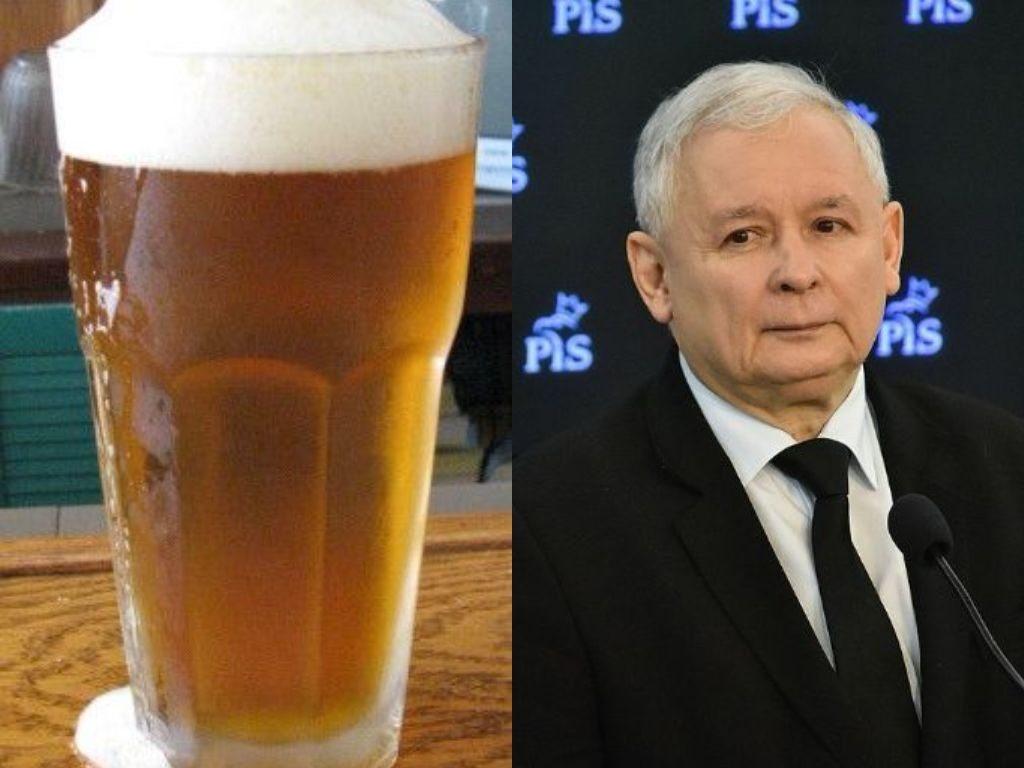 kaczyński_piwo