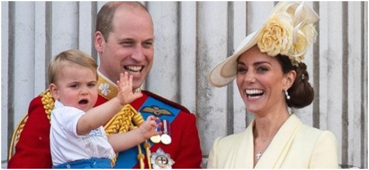 Księżna Kate musiała interweniować. Jej synek zaczął publicznie wkładać to do buzi