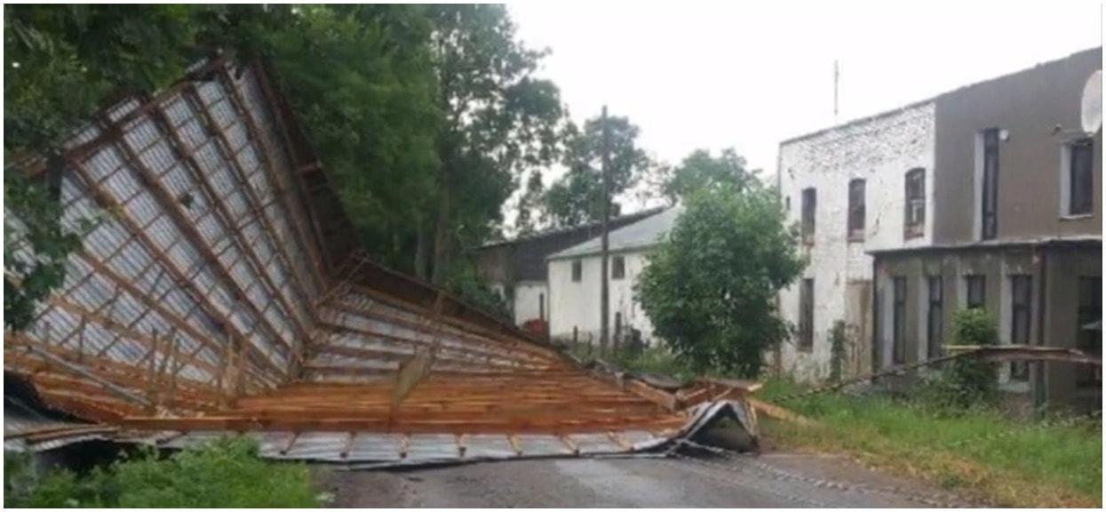 Polsat informuje o tragedii w Polsce. Zerwane linie, powalone drzewa, zalane ulice