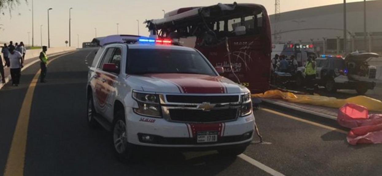 Tragiczny wypadek w Dubaju. Nie żyje 17 osób