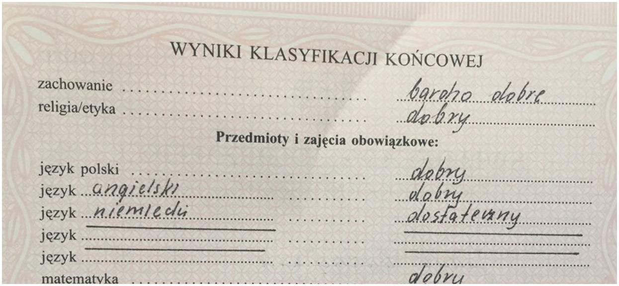 Profesor z Poznania pokazał swoje świadectwo bez ani jednej 5. Zareagowało ponad 60 tys. osób