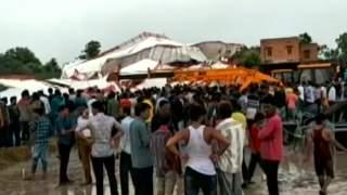 Podczas modlitwy zawalił się ogromny namiot, kilkanaście osób nie żyje. Wstrząsające wiadomości TVN, tragedia w Indiach