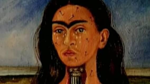 Frida Kahlo, zdjęcie obrazu