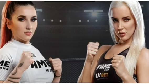 Walka wieczoru idolek polskich nastolatek na FAME MMA odebrała mowę wszystkim. Czegoś tak żenującego jeszcze nie było