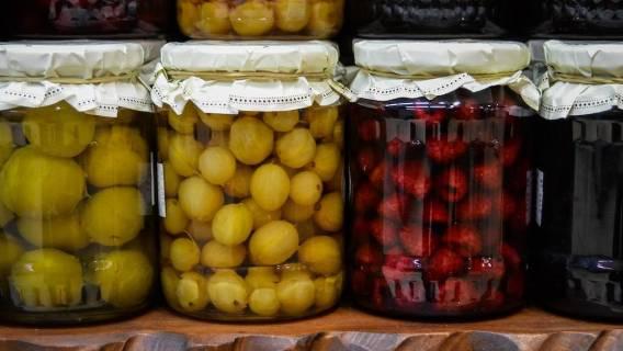 Przetwory warzywne i owocowe - zdjęcia