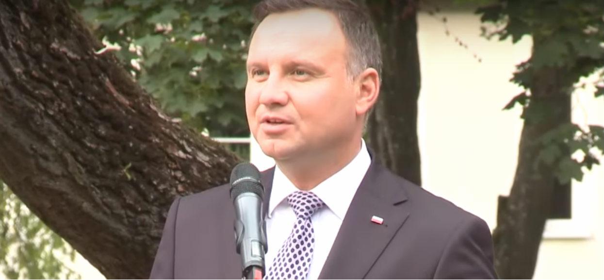 Prezydent Duda podziękował Rydzykowi i słuchaczom Radio Maryja