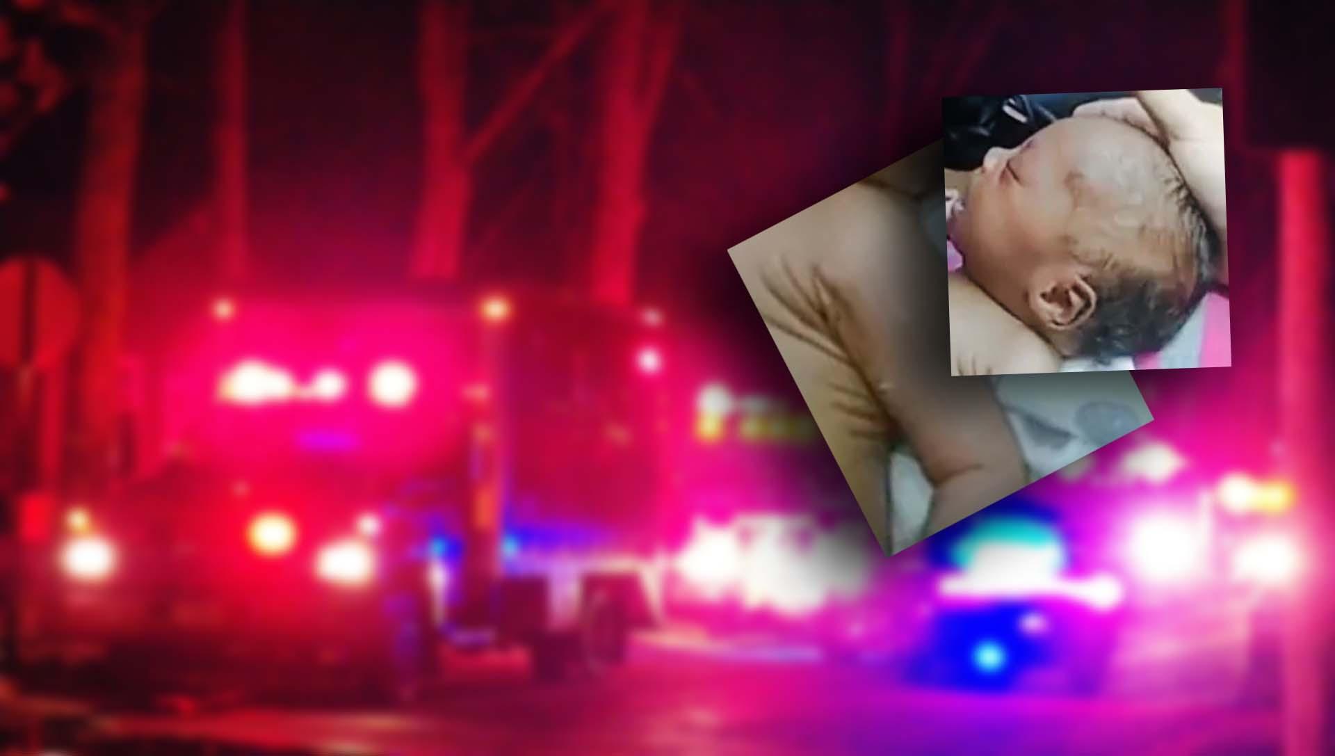 Podczas kontroli drogowej policja znalazła dziecko. Nie oddychało