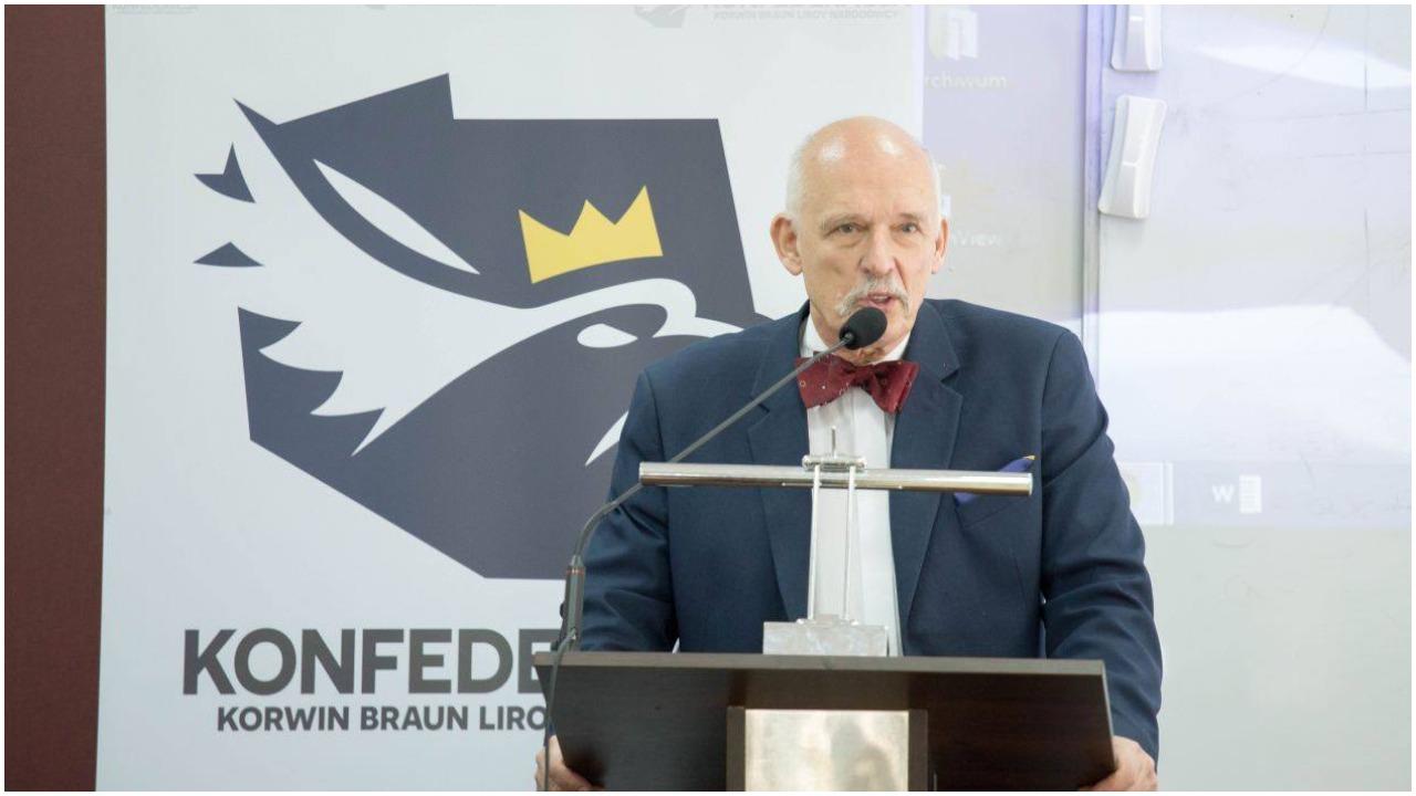 Janusz Korwin Mikke: Mężczyzna jest atrakcyjny o wiele dłużej niż kobieta