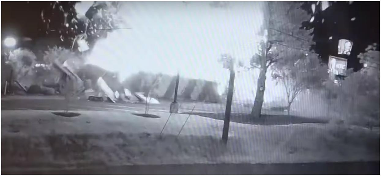 Eksplozja w KFC wstrząsnęła całym miastem. Mamy nagranie!