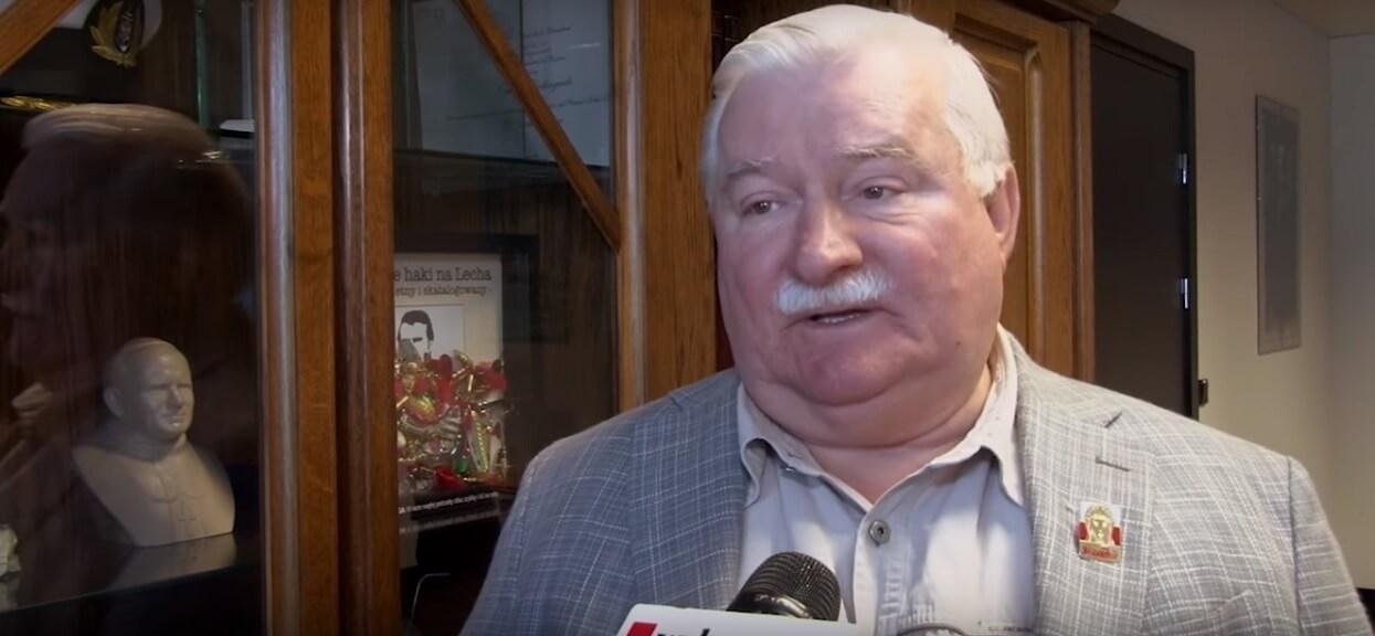 """Zaskakujące słowa Wałęsy o Kaczyńskim. """"Kocham go jako człowieka"""""""
