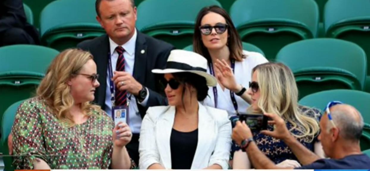 Meghan Markle wywołała skandal na Wimbledonie. Interweniowała ochrona, Brytyjczycy w szoku
