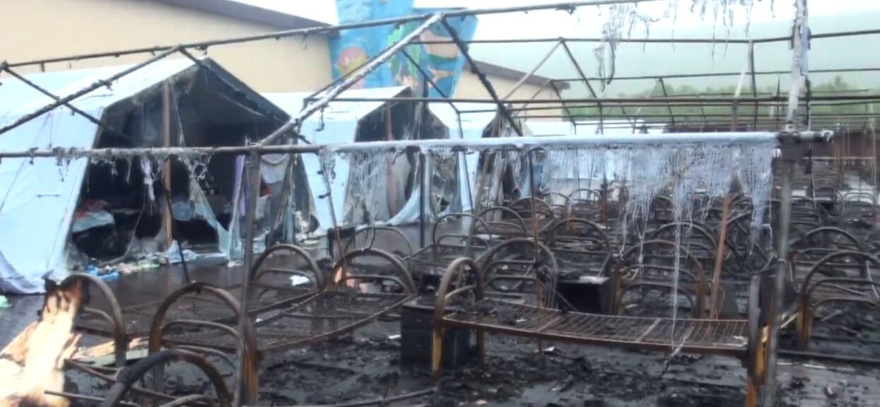 Zapaliło się 20 namiotów, 4 dzieci nie żyje. Potworna tragedia na biwaku w Rosji