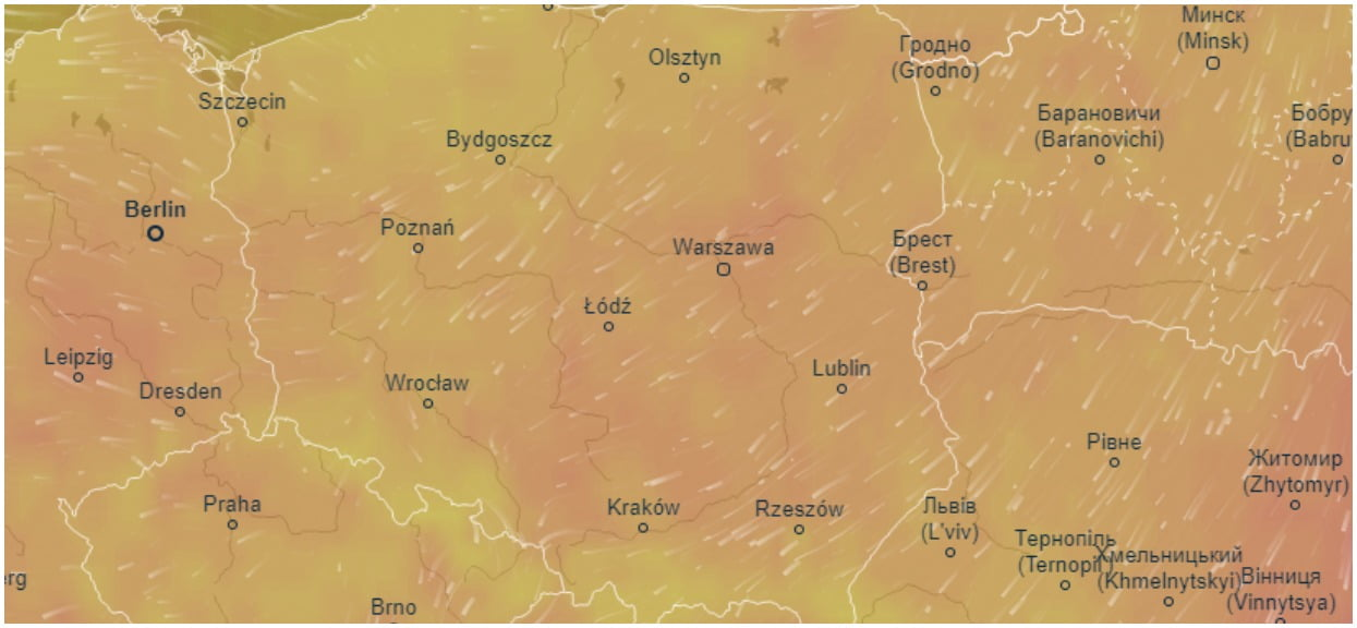 Nadchodzi drastyczna zmiana pogody. Wyż Xandra zbliża się do Polski