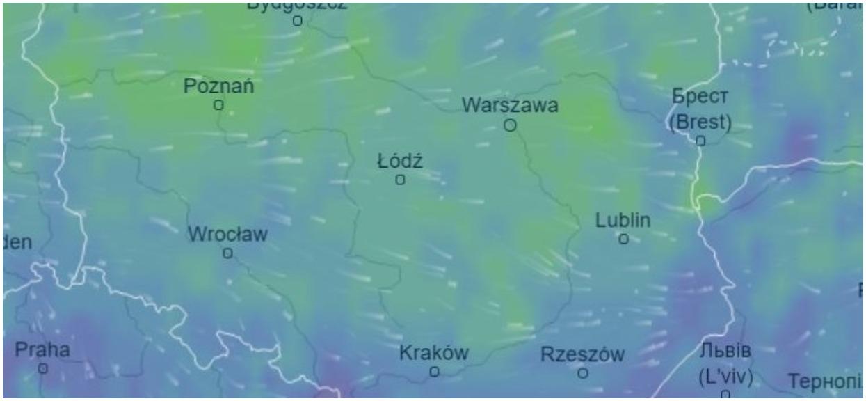 Takich anomalii w pogodzie Polacy jeszcze nie widzieli. Na zachodzie Polski ścisnął mróz, wszystko przez front polarny